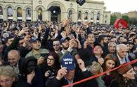 Opposition holds rally in Republic Square in Yerevan