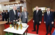 "President Aliyev views WorldFood Azerbaijan and Caspian Agro exhibitions <span class=""color_red"">[UPDATE]</span>"