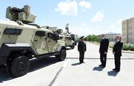 """President Aliyev views Combined Army Unit's training and educational center <span class=""""color_red"""">[PHOTO]</span>"""
