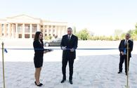 "Ilham Aliyev attends opening of new building of Nakhchivan Teachers Institute <span class=""color_red"">[UPDATE]</span>"