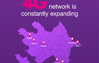 Azercell's 4G now for Azerbaijan's Masalli, Jalilabad residents