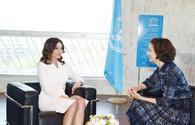 "Azerbaijan's First VP Mehriban Aliyeva meets UNESCO director general <span class=""color_red"">[PHOTO]</span>"