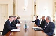 "President Aliyev receives delegation led by ILO director-general <span class=""color_red"">[UPDATE]</span>"