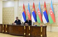 "President Aliyev: Conflicts faced by Azerbaijan, Serbia must be resolved in line with countries' territorial integrity <span class=""color_red"">[UPDATE]</span>"