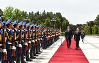 "Official welcome ceremony held for Serbian President Aleksandar Vucic <span class=""color_red"">[UPDATE]</span>"