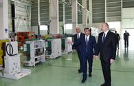 "Azerbaijani president inaugurates high-voltage equipment plant in Baku <span class=""color_red"">[PHOTO]</span>"