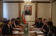 "Azerbaijani FM receives delegation headed by ILO director general <span class=""color_red"">[PHOTO]</span>"