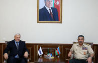 Azerbaijani defense minister meets personal representative of OSCE chairperson