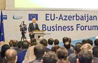 Minister Mustafayev to deliver keynote speech at EU-Azerbaijan Business Forum