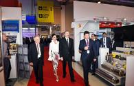 "President Aliyev, First Lady Mehriban Aliyeva observe 25th Caspian Oil & Gas Exhibition and Conference <span class=""color_red"">[PHOTO]</span>"