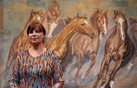 "Karabakh horses through eyes of Latvian artist <span class=""color_red"">[PHOTO]</span>"
