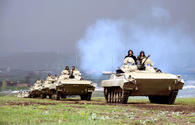 """Military contingent participating in Turkish-Azerbaijani joint drills return to Nakhchivan <span class=""""color_red"""">[PHOTO]</span>"""