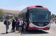 "Free buses begin to run in Baku <span class=""color_red"">[PHOTO]</span>"
