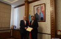 Azerbaijani FM receives newly-appointed Bulgarian envoy