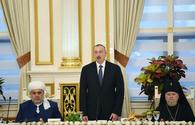 "President Aliyev attends Iftar ceremony on occasion of holy month of Ramadan <span class=""color_red"">[PHOTO]</span>"