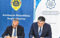 "Azerbaijan's ministries of communications and taxes sign protocols of agreement <span class=""color_red"">[PHOTO]</span>"
