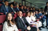"President Aliyev, First Lady attend opening ceremony of 2018 FIFA World Cup in Moscow <span class=""color_red"">[PHOTO]</span>"