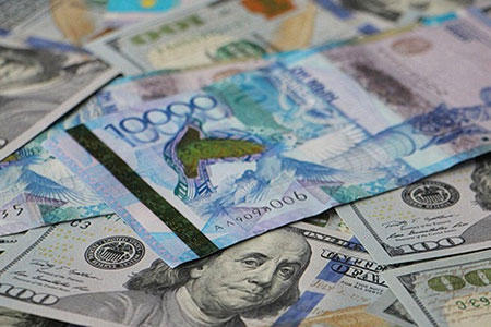 kazakh currency loses over 4 tenge against us dollar