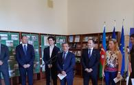 """Exhibition dedicated to Centenary of Romanian Great Union opens in Baku <span class=""""color_red"""">[PHOTO]</span>"""