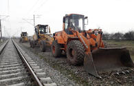 "Overhaul underway at 2 railway stations in Azerbaijan <span class=""color_red"">[PHOTO]</span>"
