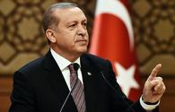 Erdogan: Turkey late with beginning fight against terror in northern Syria