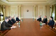 Azerbaijani president receives delegation led by Algerian justice minister