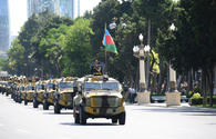 "Baku hosts military parade on occasion of centenary of Azerbaijan's Armed Forces <span class=""color_red"">[PHOTO/VIDEO]</span>"