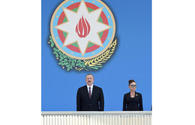 "President Ilham Aliyev, First Lady Mehriban Aliyeva attend military parade dedicated to centenary of Azerbaijani Armed Forces <span class=""color_red"">[UPDATE]</span>"