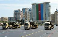 "Baku Media Center presents video from military parade on occasion of army centenary <span class=""color_red"">[VIDEO]</span>"