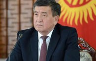 Jeenbekov talks priority directions of Kyrgyzstan's foreign policy