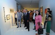 "Works by Georgian artists presented in Baku <span class=""color_red"">[PHOTO]</span>"