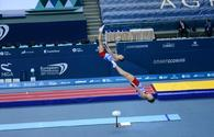 National gymnasts became first in synchronous jumping on trampoline