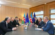 "Ilham Aliyev meets European Council president in Brussels <span class=""color_red"">[UPDATE]</span>"
