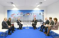 Azerbaijani FM, defense minister meet US counterparts