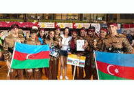 Azerbaijani gymnasts win gold medals in Liege