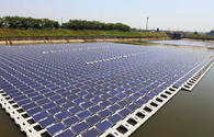 Pilot project on floating solar panels to be implemented in Azerbaijan
