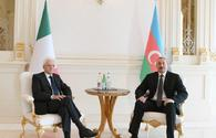 "One-on-one meeting of presidents of Azerbaijan and Italy takes place in Baku <span class=""color_red"">[PHOTO]</span>"