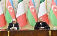 "President Aliyev: Italy can play active role in Karabakh conflict's settlement <span class=""color_red"">[UPDATE]</span>"