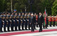 "Official welcoming of President of Italy held in Baku <span class=""color_red"">[PHOTO]</span>"