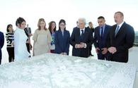 "Presidents of Azerbaijan, Italy review exhibition in Heydar Aliyev Center <span class=""color_red"">[PHOTO]</span>"