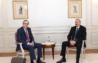 President Ilham Aliyev meets Executive VP of BTP company