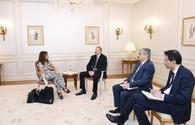 "President Ilham Aliyev met with Managing Director of Wilmotte & Associes Architectes <span class=""color_red"">[PHOTO]</span>"