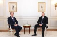 President Ilham Aliyev meets with President of CIFAL group