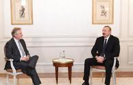 President Ilham Aliyev meets with Chief VP of Thales International