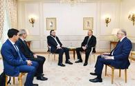 President Ilham Aliyev met with Chairman and CEO of Total