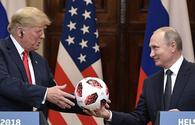 The soccer ball Putin gave to Trump is undergoing a routine security check