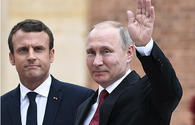 Putin, Macron discuss joint humanitarian aid to Syria
