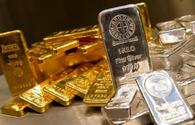 Gold, silver prices decline in Azerbaijan