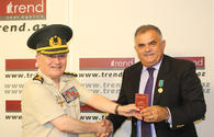 "Trend deputy director general awarded medal of Azerbaijan Veterans Organization <span class=""color_red"">[PHOTO]</span>"