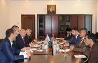 """Azerbaijan, Afghanistan sign protocol on defense industry co-op <span class=""""color_red"""">[PHOTO]</span>"""